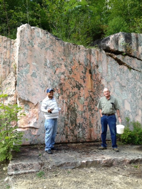 Pink Marble Quarry with Wil