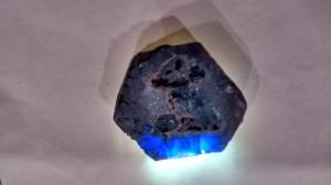 raw blue sapphire