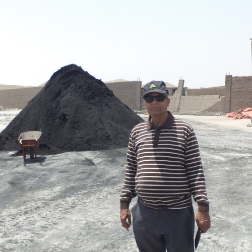 Noor Chromite Stockpile